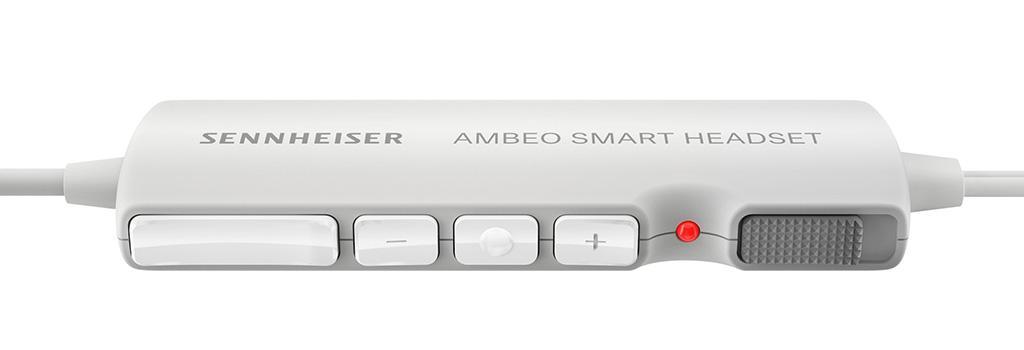 以 3D 立體聲視頻捕捉你的世界 Sennheiser AMBEO SMART HEADSET