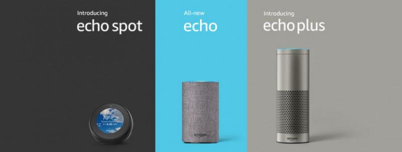 Amazon 強勢推出三款全新 Echo 智能喇叭