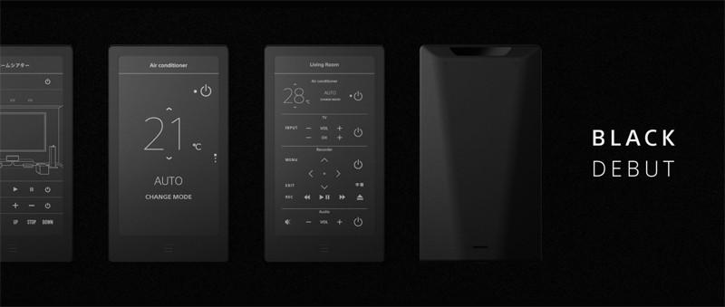 黑魂來襲,Sony推出智慧遙控器 HUIS 新款 Black model