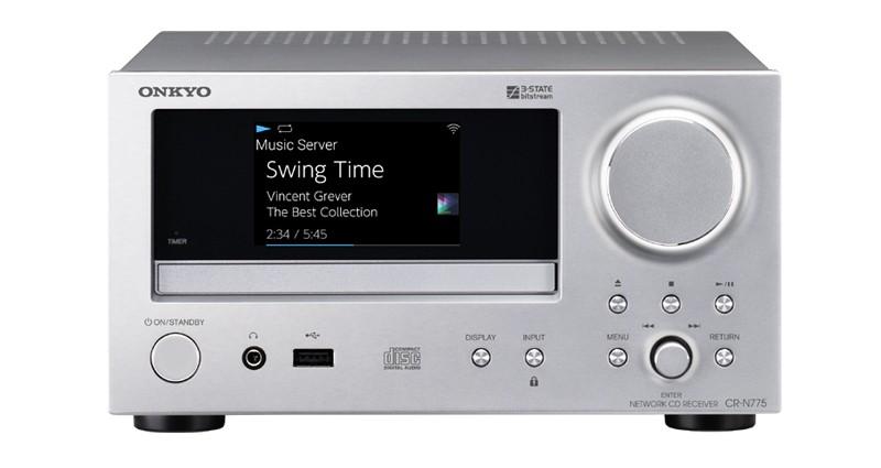 彩色巨屏來襲,Onkyo 推出小型網絡音響系統 CR-N775