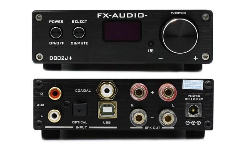 FX-AUDIO 推出全新小型數碼放大器 D802J+