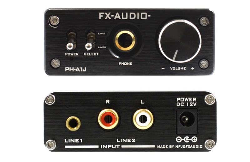 FX-AUDIO 推出品牌首部耳機放大器 PH-A1J