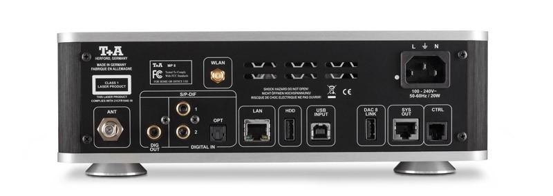 T+A 推出多功能 / 多訊源播放器 MP8