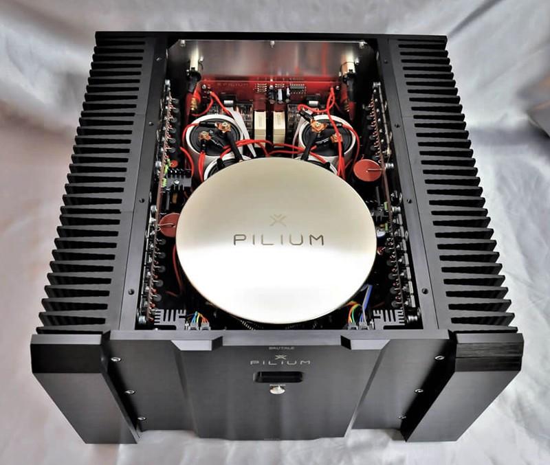 PILIUM AUDIO 推出 Brutale Line 立體聲後級放大器 Achilles