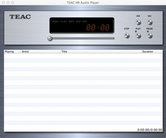 日本 TEAC 發布最新版本 TEAC HR Audio Player,支援 DSD 22.5MHz / PCM 768kHz