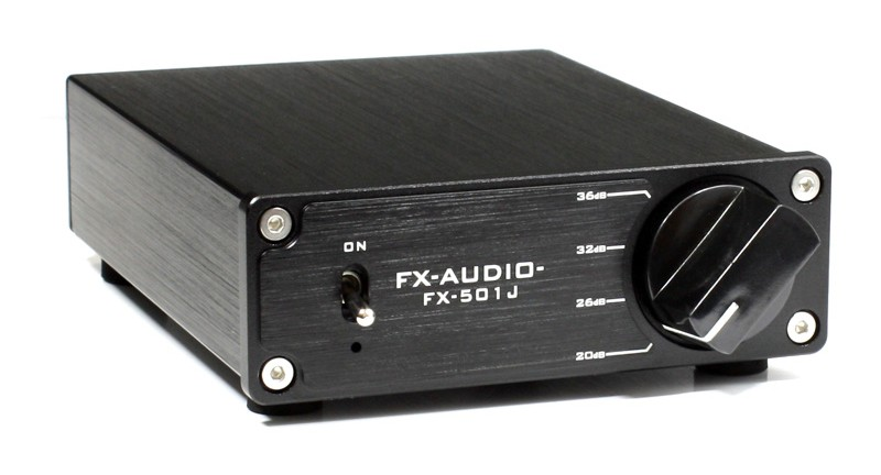 玩味十足,FX-AUDIO 推出全新小型單聲道放大 FX-501J