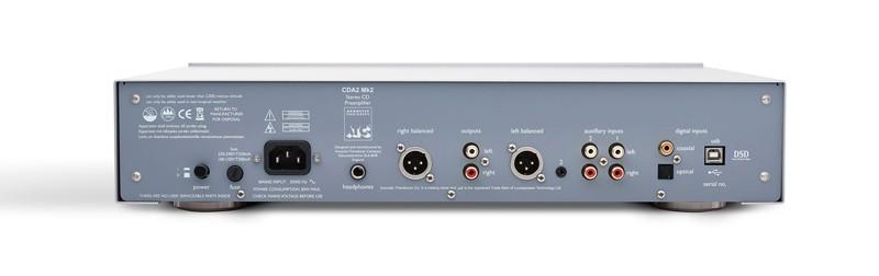 CD / DAC / 前級三合一,ATC 推出全新 CDA 2 Mk2