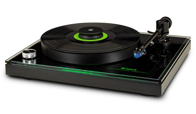 McIntosh 推出入門級黑膠唱盤 MT2 Precision Turntable