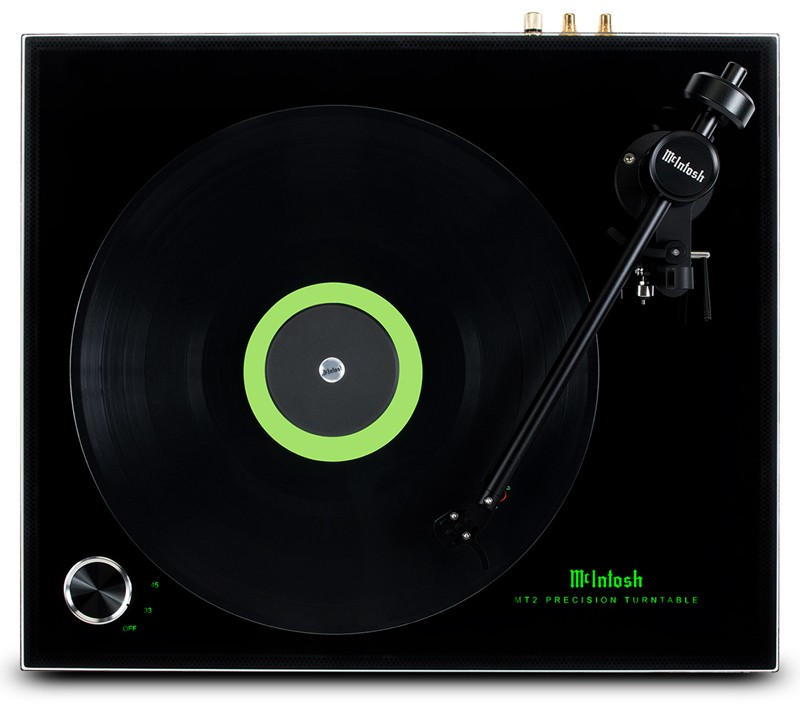 McIntosh 推出入門級黑膠唱盤 MT2 Precision Turntable