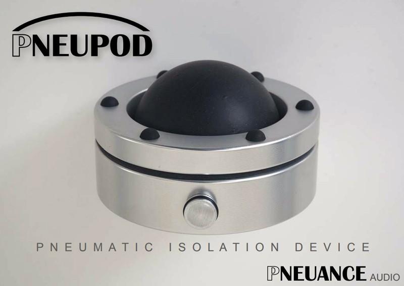 Pneuance Audio 推出全新絕緣腳 Pneupod NP-1