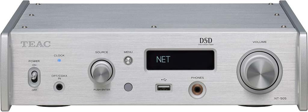 TEAC NT-505 旗艦級網絡串流播放器 / USB DAC 解碼器