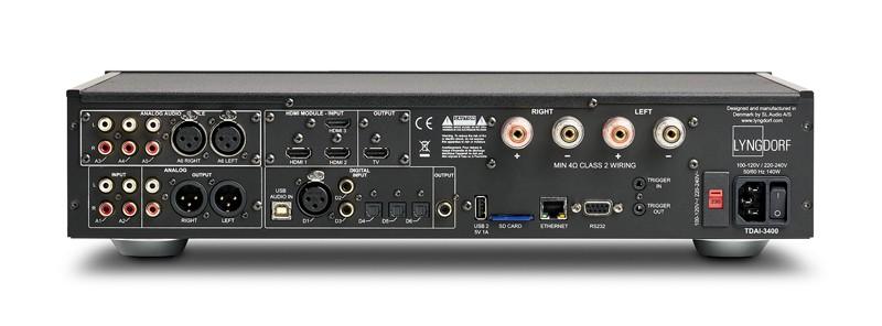 網絡功能加持, Lyngdorf 推出全新數碼放大器 TDAI-3400