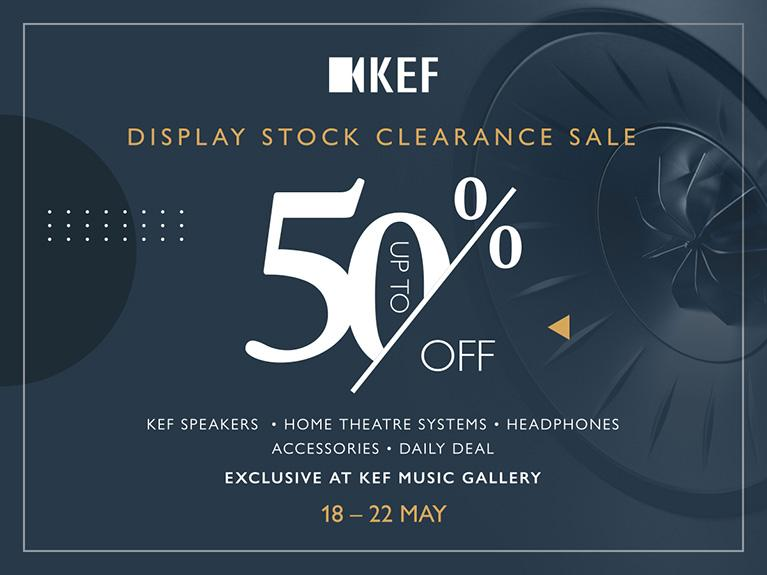 KEF MUSIC GALLERY 陳列品特賣週