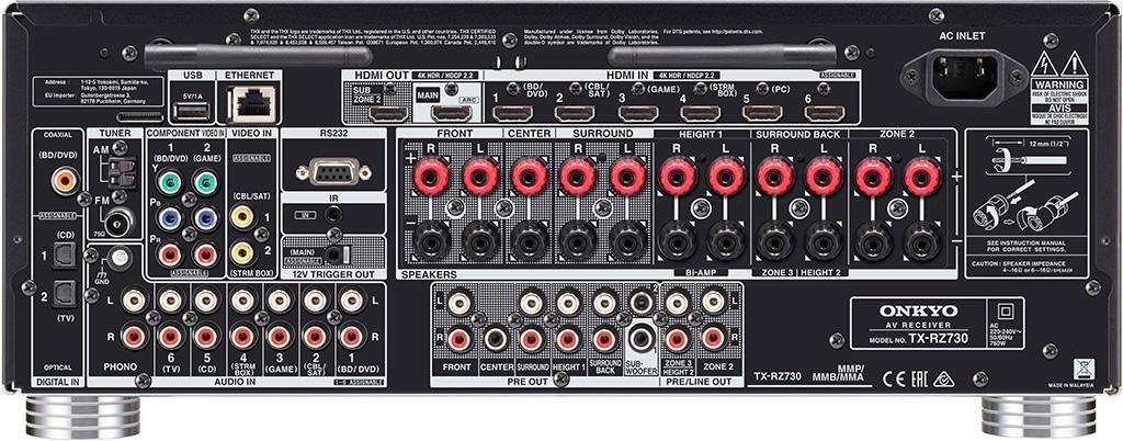 Onkyo TX-RZ730  開拓視聽娛樂新視野