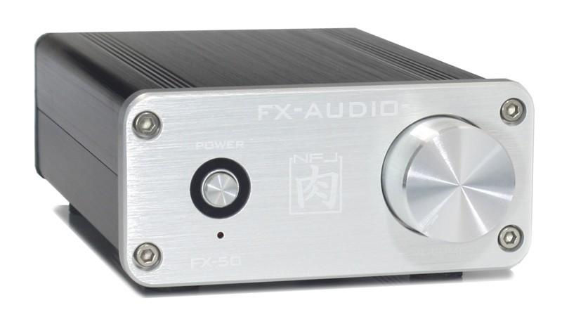 FX - AUDIO 推出全新小巧放大器 FX-50