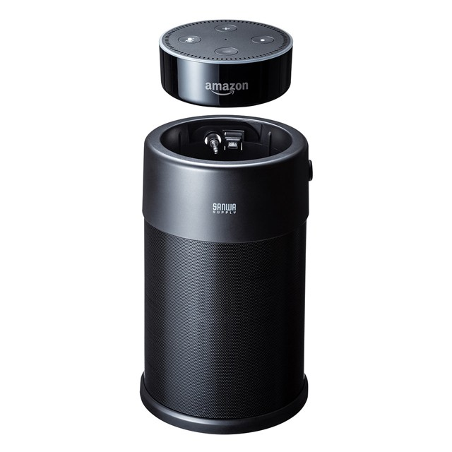 Amazon Echo Dot 最佳拍檔, SANWA SUPPLY 推出全新擴充型喇叭系統 400-SP077