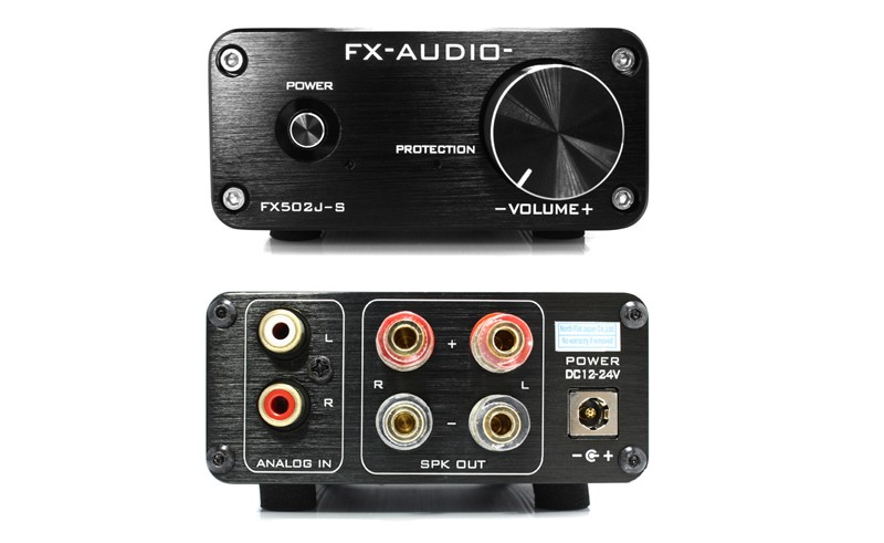 FX-AUDIO 推出全新的合併放大器 FX502J-S