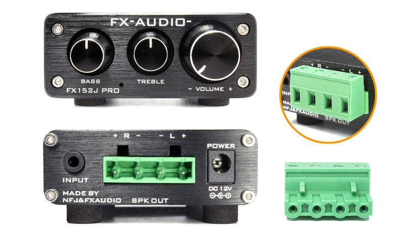 FX-AUDIO 推出以專業用途為主的合併放大器 FX152J PRO