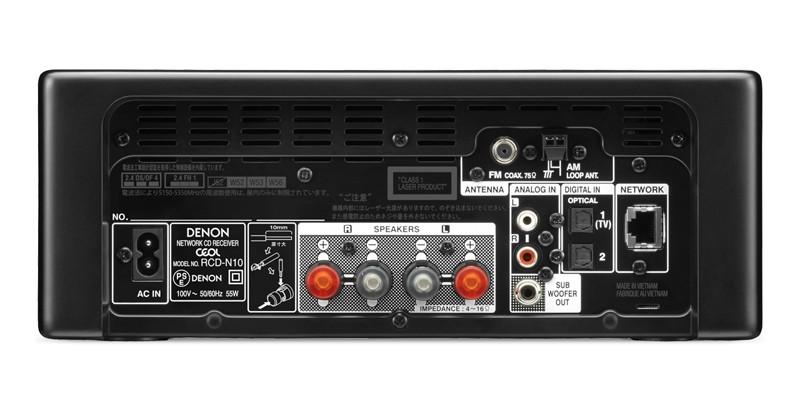 AIRPLAY 2 首度植入, DENON 推出全新迷你音響 RCD-N10