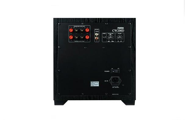 FOSTEX 推出全新有源超低音喇叭 CW200D