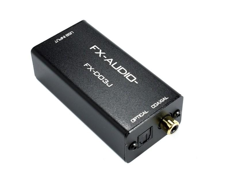 FX-AUDIO 推出小型 D to D 數碼轉換器 FX-D03J