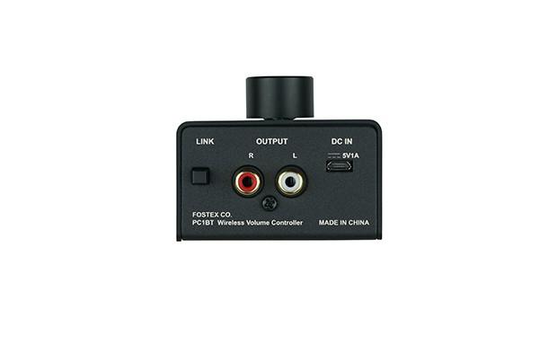 FOSTEX 推出小型藍牙音量控制器 PC1BT