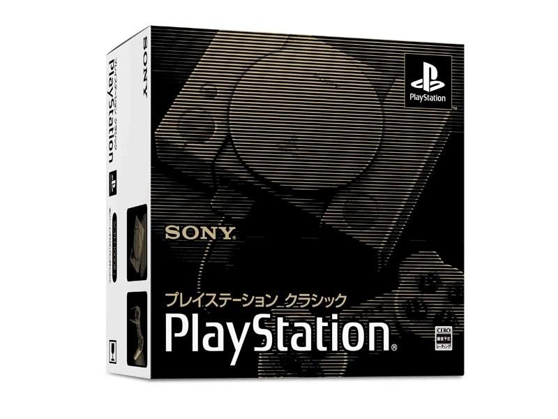 懷舊經典,Sony 推出內置 20 款經典遊戲的迷你主機「PlayStation Classic」