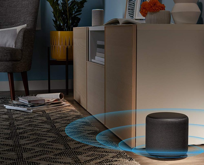 最新一輪 Echo 攻勢出籠(三),Amazon 推出全新 Echo Sub 超低音喇叭