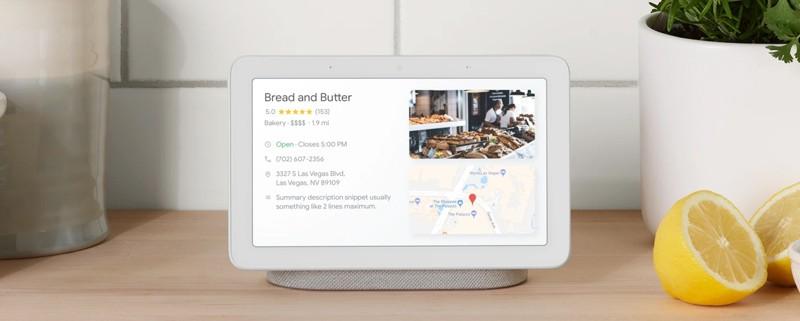 Google 即將推出全新具顯示屏的智能喇叭 Home Hub