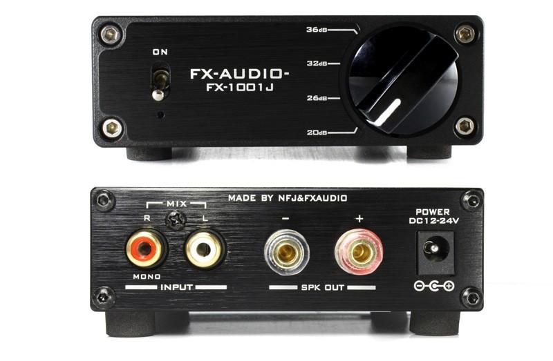 FX-AUDIO 推出全新小型單聲道放大 FX-1001J