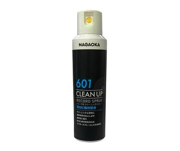 NAGAOKA 推出保養黑膠唱片用的「CLEAN UP」 SP-601噴霧