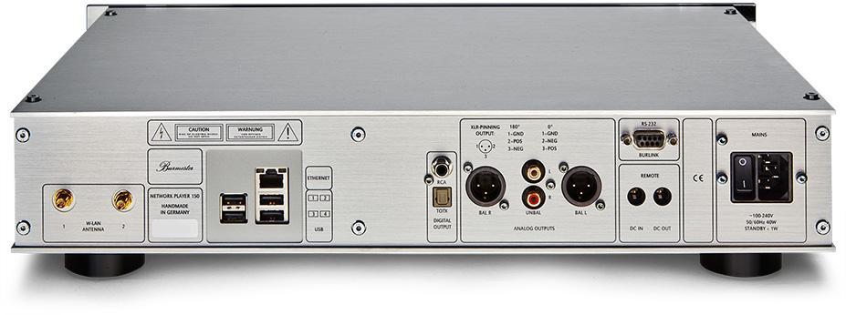簡單就是美 - Burmester 150 網路音樂播放器