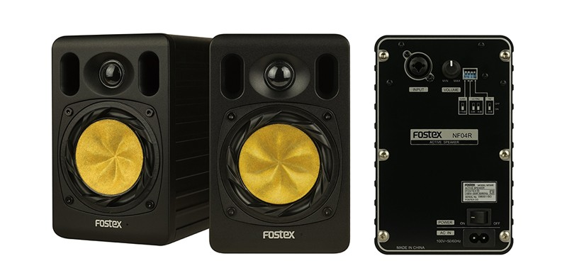 Fostex 推出全新小型監聽喇叭 NF04R