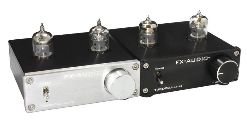 FX-AUDIO 推出限量版本真空管 / 原子粒混合式前級放大器 TUBE-00J LIMITED