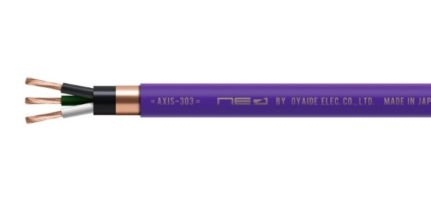 102 SSC 導體加持,Oyaide 推出電源線 AXIS-303 GX 及 AXIS-303