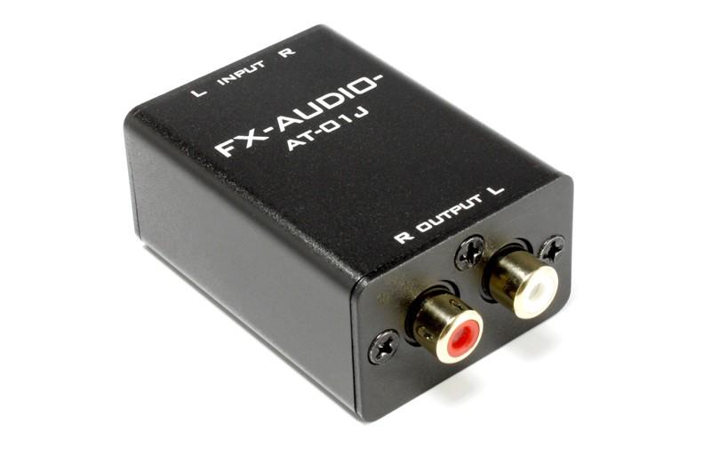 FX-AUDIO 推出高精度音頻衰減器 AT-01J