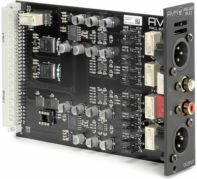 德國 AVM (皇爵) OVATION 旗艦系列 PA 8.2SS 晶體管前級