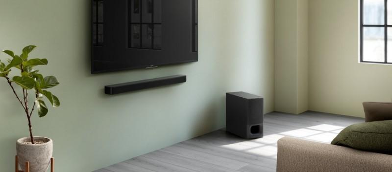 強勁無線超低音加持,Sony 推出 HT-S350 Soundbar 系統