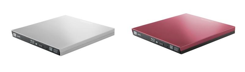 Logitec 外置薄型 4K UHD BD 光碟機 LBD-PVA6UCV