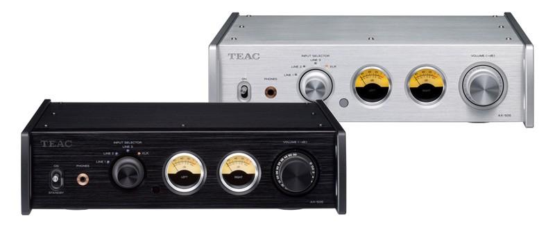 Reference 500 系列最新成員,TEAC 推出 AX-505 立體聲合併式放大器