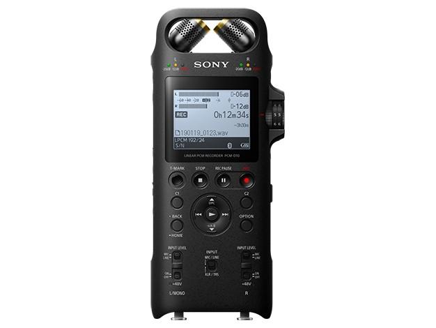 Sony 推出便攜式 Hi-Res 數碼錄音機 PCM-D10