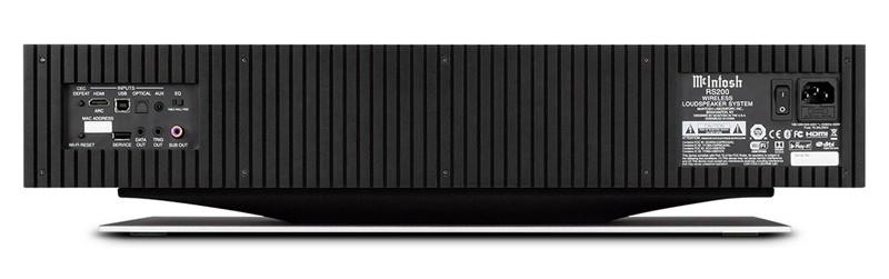 簡約奢華,MCINTOSH 推出全新無線喇叭系統 RS200