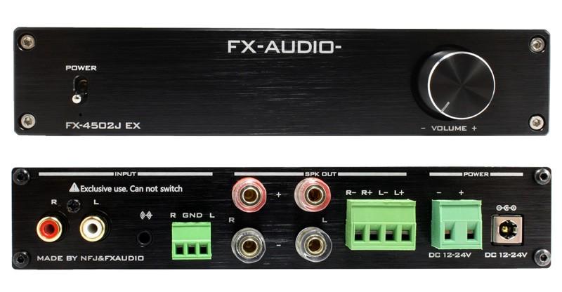 FX-AUDIO 推出全新後級放大器 FX-4502J EX