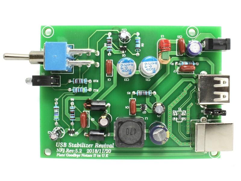FX-AUDIO 推出全新 USB 穩定器 PGN II