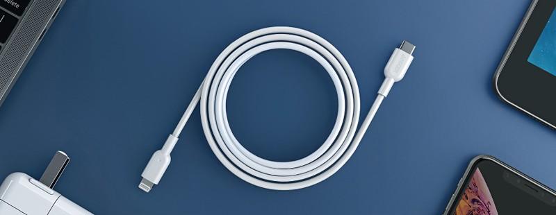 極充 + 耐用,Anker 推出全新 Anker PowerLine II USB-C & Lightning Cable 線材