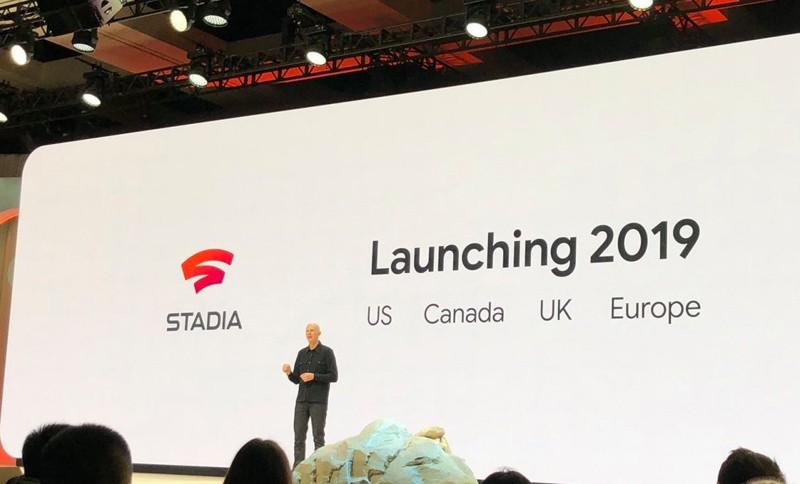 串流遊戲時代來臨,Google 正式發表 Stadia 平台