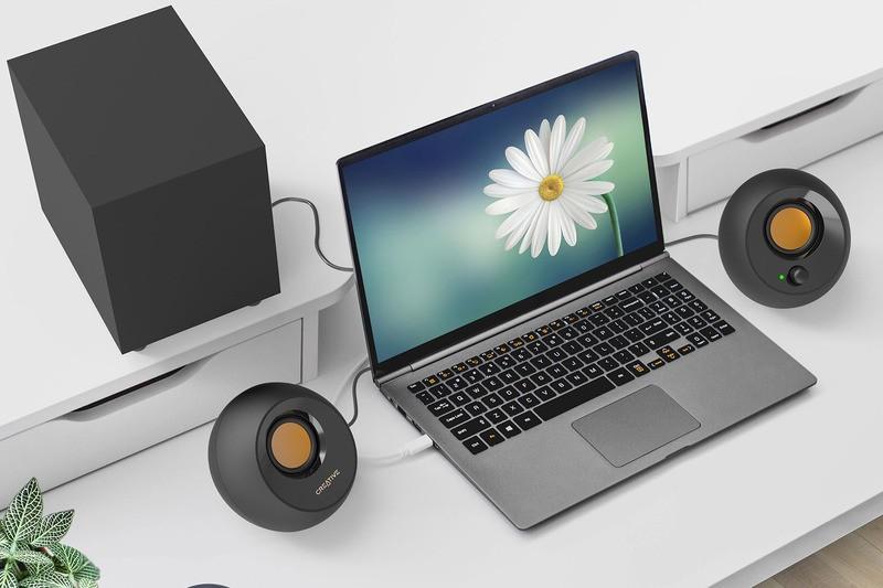 Creative 推出全新 2.1 電腦喇叭系統 Creative Pebble Plus