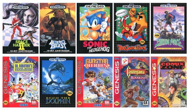 迷你版本重生,SEGA 推出復刻版 Mega Drive Mini / SEGA Genesis Mini
