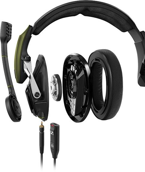 Sennheiser 推出全新 7.1 環迴立體聲遊戲耳機 GSP 550