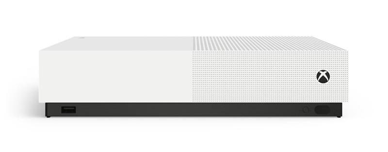 無光碟化主機誕生,微軟推 Xbox One S 全數位版遊戲主機